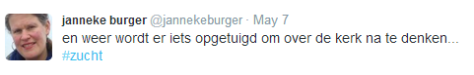 20140507 Twitter Janneke Burger
