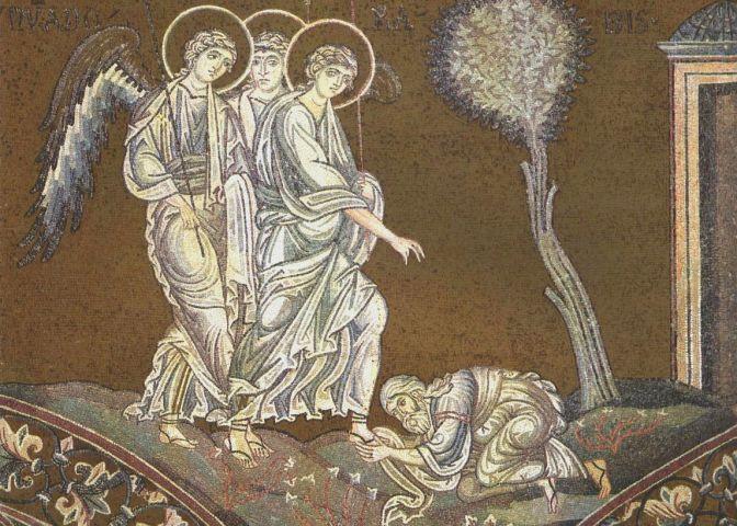 abraham engelen en mamre