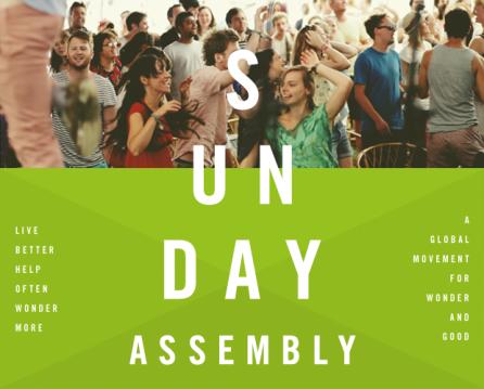 poster Sunday Assembly