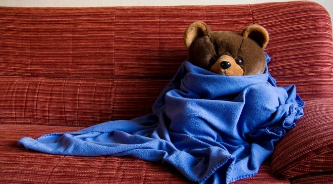 Diederik wil ook wel zo'n warme deken
