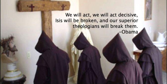 theologen, obama, isis