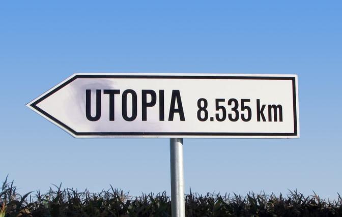 Utopia-gelovigen zijn vermakelijk én goed voor de kijkcijfers..