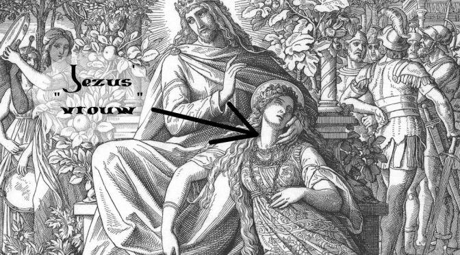 jezus vrouw, complot
