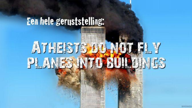 religieus terrorisme, een hele geruststelling