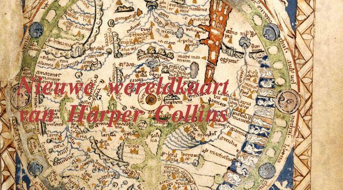 wereldkaart harper collins