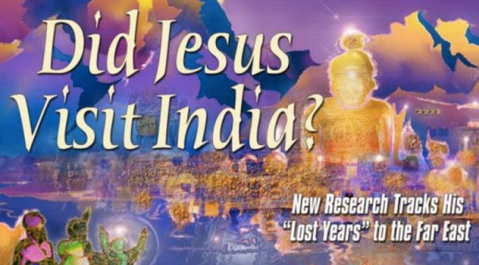 Jezus in india, kashmir